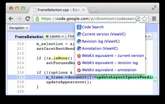 Source Quicklinks screenshot